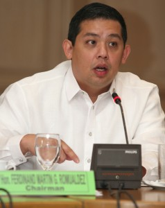 "ROMUALDEZ TO DOH: ENSURE EBOLA-FREE PH •	October 14, 2014 •	Written by Jester P. Manalastas •	Published in Top Stories HOUSE independent bloc leader and Leyte (lst District) Rep. Ferdinand Martin G. Romualdez has urged the Department of Health (DOH) to double efforts  to ensure that the country remains  free from the deadly Ebola virus.       Romualdez said the DOH must be prepared for the threat of Ebola virus, which the World Health Organization has declared as one of the most serious health global concerns.      He added that the DOH officials must be vigilant against people entering  the country especially those from who Ebola-hit countries in West Africa.      ""We commend them for their work, but our health officials should  continue to be vigilant and double their efforts in ensuring an Ebola-free Philippines,"" Romualdez stressed, adding that returning Filipino workers suspected to have Ebola must  disclose their health condition and whereabouts"